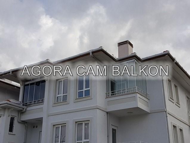 füme renk cam balkon