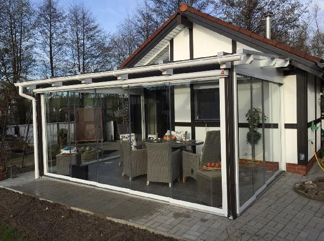 cam balkonlu kış bahçesi