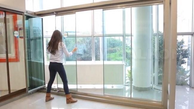 ısıcamlı katlanır cam balkon camoda